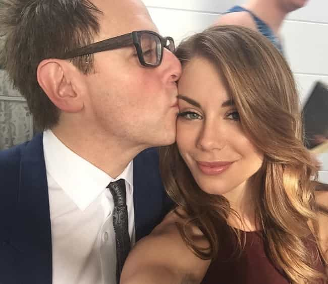 Jennifer Holland is listed (or ranked) 1 on the list Every Woman James Gunn Has Dated