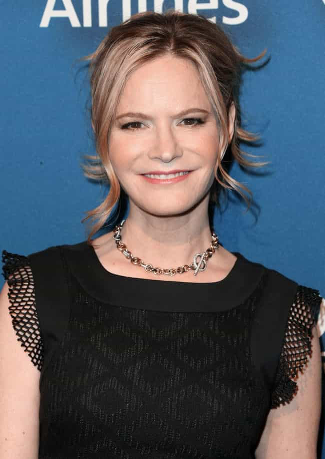 Jennifer Jason Leigh is listed (or ranked) 4 on the list Kevin Spacey Loves and Hookups