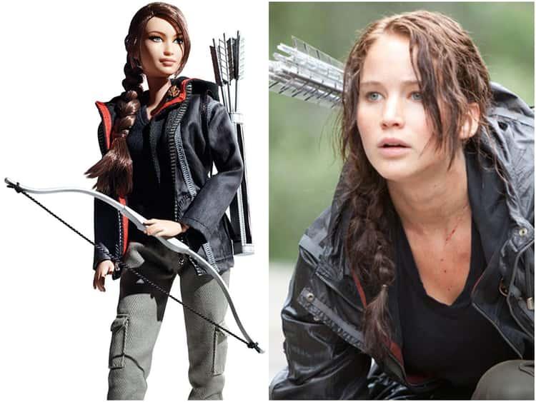 Jennifer Lawrence (As Katniss Everdeen)