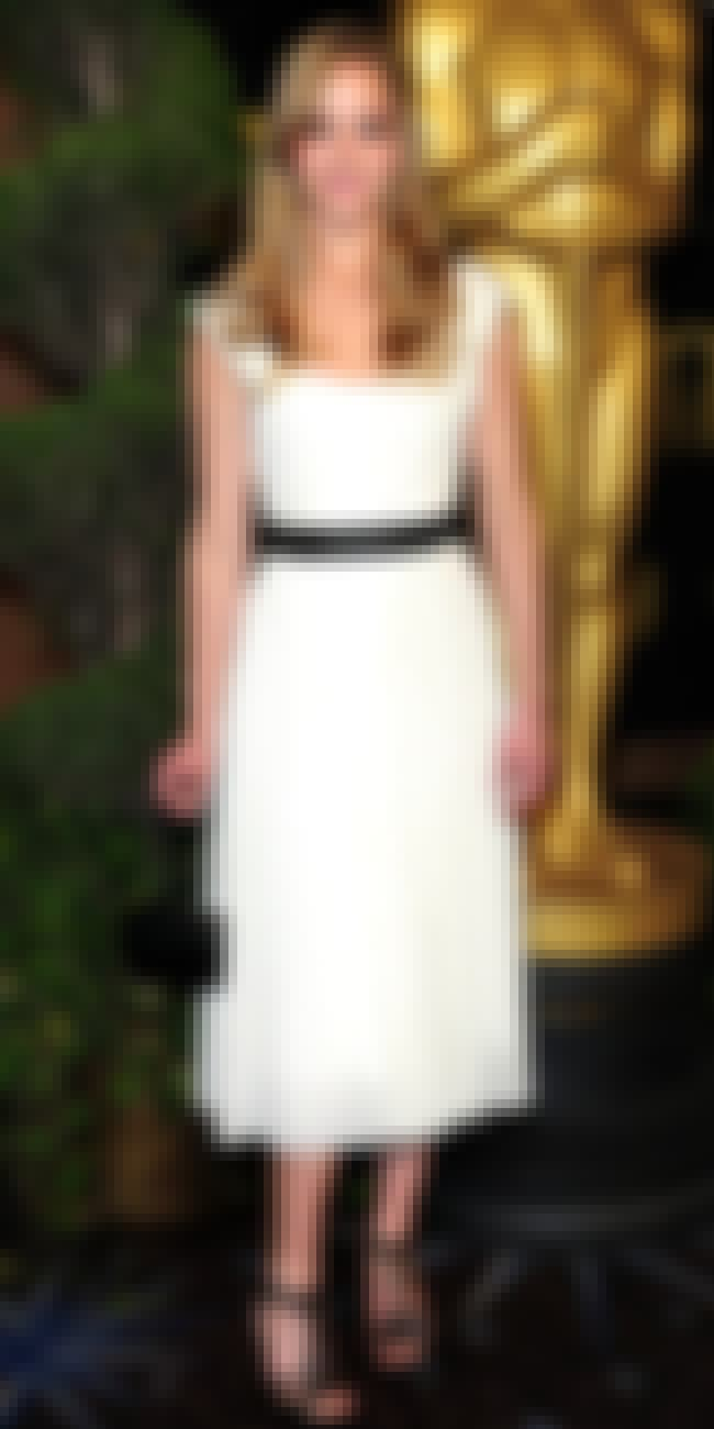 Jennifer Lawrence is listed (or ranked) 2 on the list Chloe Dresses on Celebrities