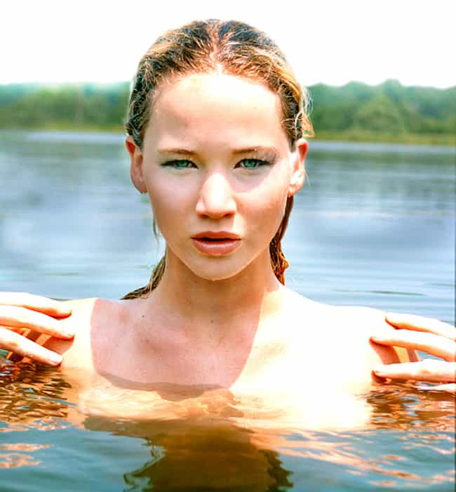 Jennifer Lawrence is listed (or ranked) 16 on the list Is There Anything  Hotter