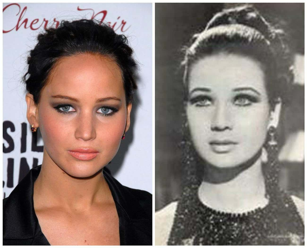 Could JLaw and Egyptian Actress Zubaida Tharwat Be Long Lost Relatives?