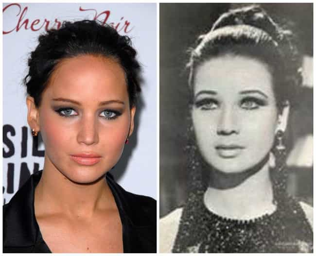 Celebrities And Their Lookalikes Of Other Races - 24 celebrities and their incredible look alikes from past