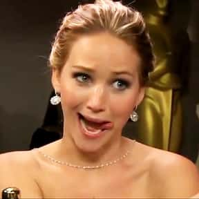 Jennifer Lawrence is listed (or ranked) 2 on the list Who Was America's Girlfriend in 2015?