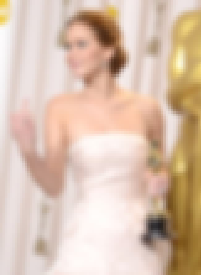 Jennifer Lawrence is listed (or ranked) 4 on the list 28 Famous People You Wouldn't Expect Giving the Finger