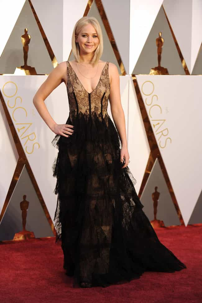 Jennifer Lawrence is listed (or ranked) 4 on the list The Worst Dressed at the 2016 Oscars