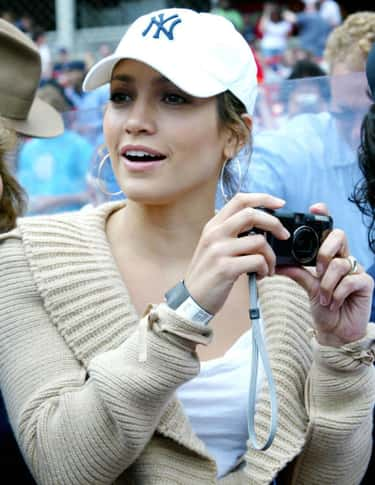Jennifer Lopez is listed (or ranked) 2 on the list Celebrity Yankee Fans