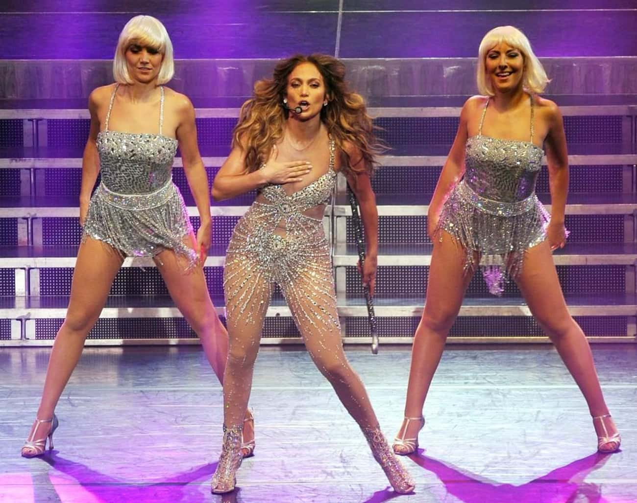 Jennifer Lopez is listed (or ranked) 2 on the list The Biggest Triple Threats In Entertainment