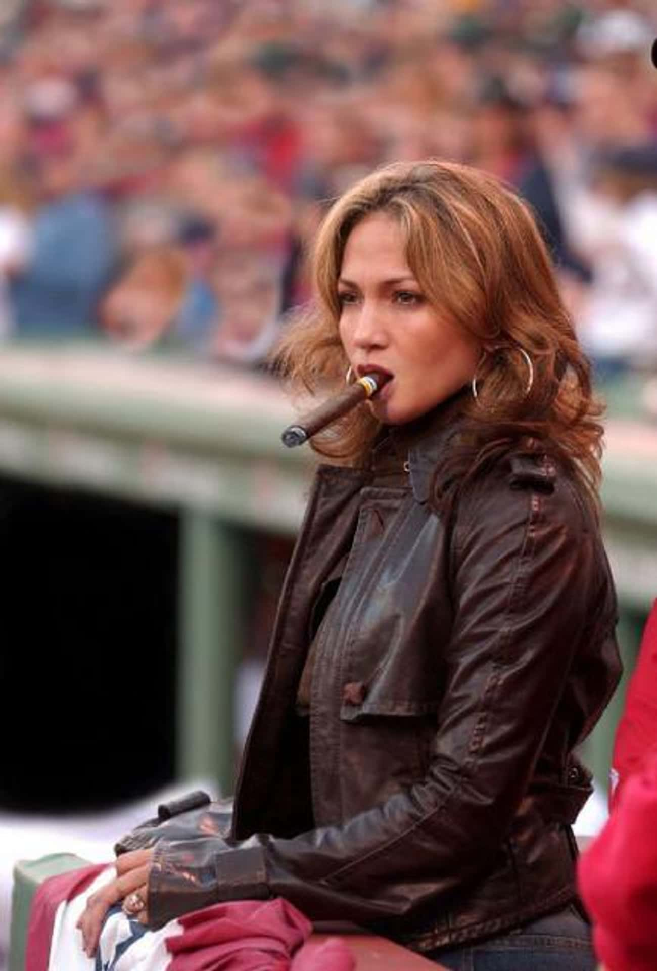 Jennifer Lopez is listed (or ranked) 4 on the list 75+ Celebrities Who Smoke Cigars