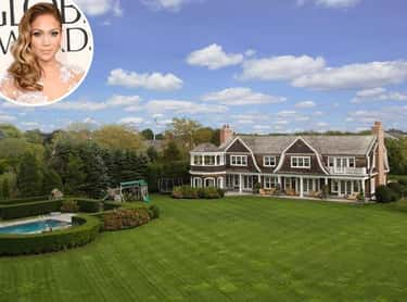 Jennifer Lopez is listed (or ranked) 1 on the list 28 Celebrities Who Own Gorgeous Homes in the Hamptons