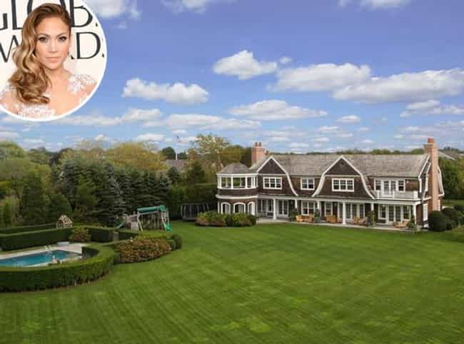 Jennifer Lopez is listed (or ranked) 1 on the list 29 Celebrities Who Own Gorgeous Homes in the Hamptons