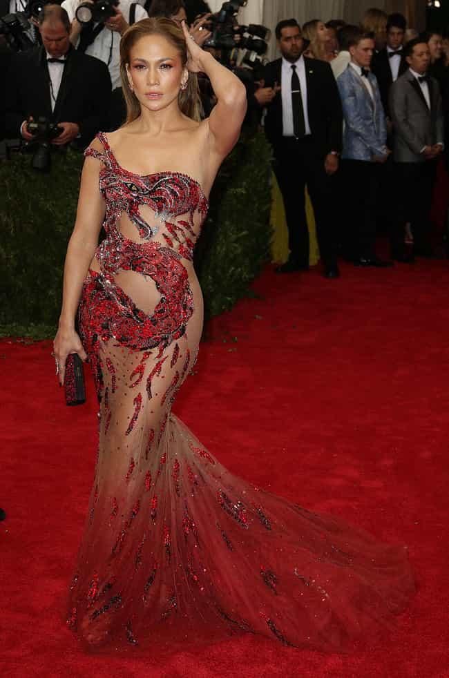 Shocking See Through Celebrity Sheer Dresses