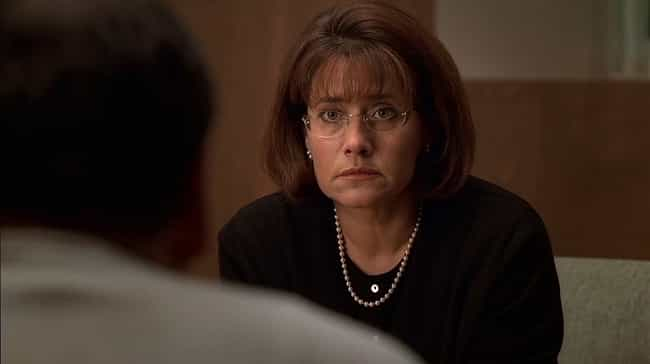 Jennifer Melfi is listed (or ranked) 4 on the list The 14 Worst Fictional Therapists in Television History