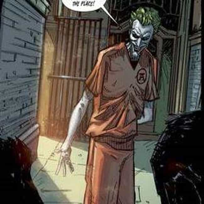 Jeremiah Arkham is listed (or ranked) 3 on the list Ranking Every Joker in the Comics