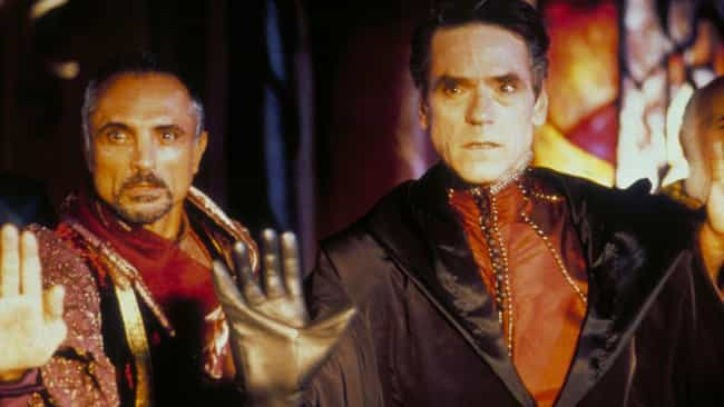 Jeremy Irons is listed (or ranked) 4 on the list Beloved Actors Who've Starred in Terrible Movies