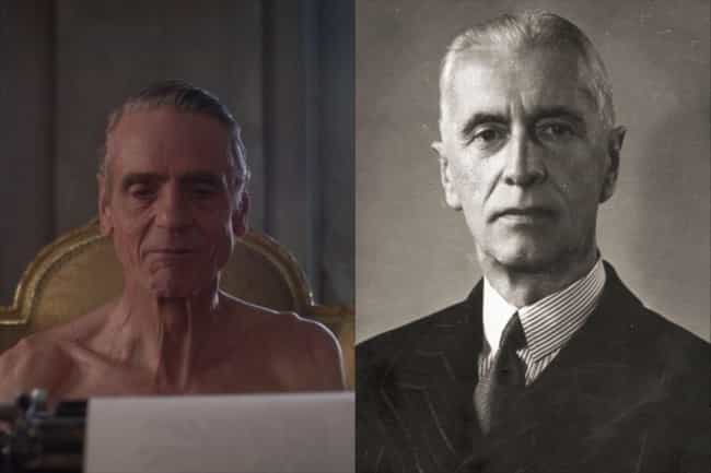 Jeremy Irons is listed (or ranked) 1 on the list WWII World Leaders And The Actors Who Should Play Them In A Movie