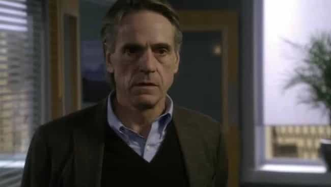 Jeremy Irons is listed (or ranked) 4 on the list The Best Law & Order SVU Guest Stars