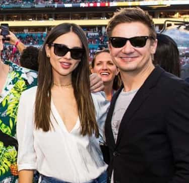 Jeremy Renner is listed (or ranked) 2 on the list Eiza Gonzalez Loves and Hookups