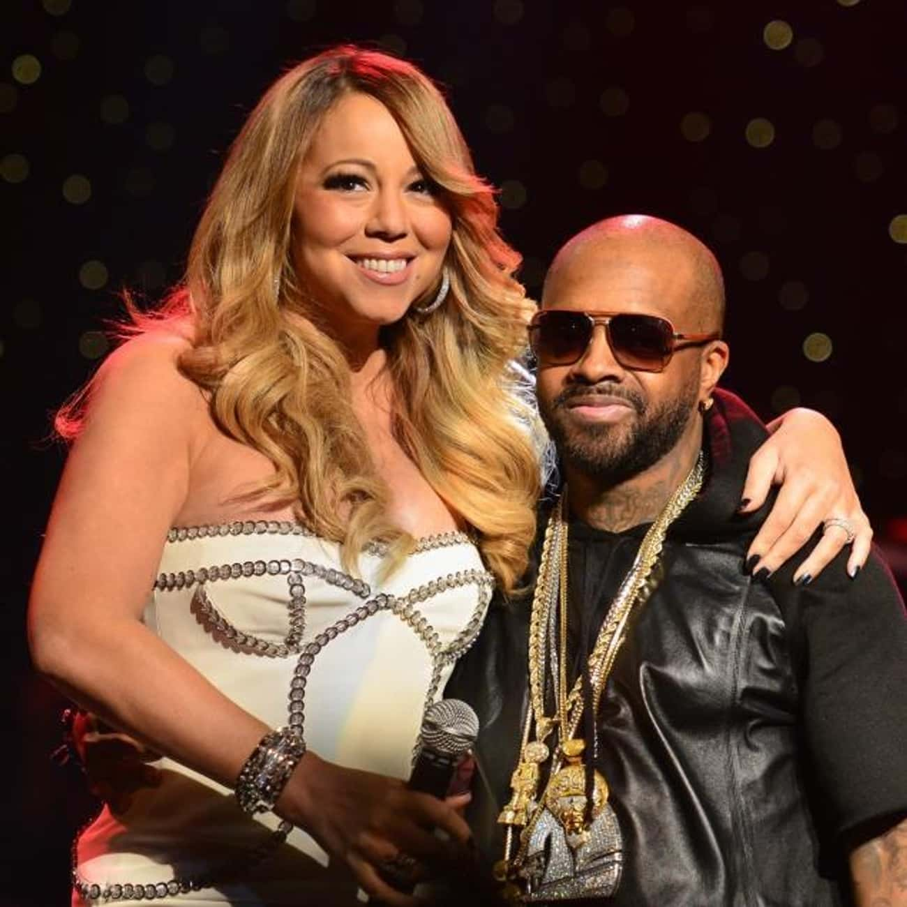 Jermaine Dupri is listed (or ranked) 4 on the list Famous Friends of Mariah Carey
