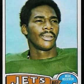 Jerome Barkum is listed (or ranked) 24 on the list The Best NFL Tight Ends of the '70s