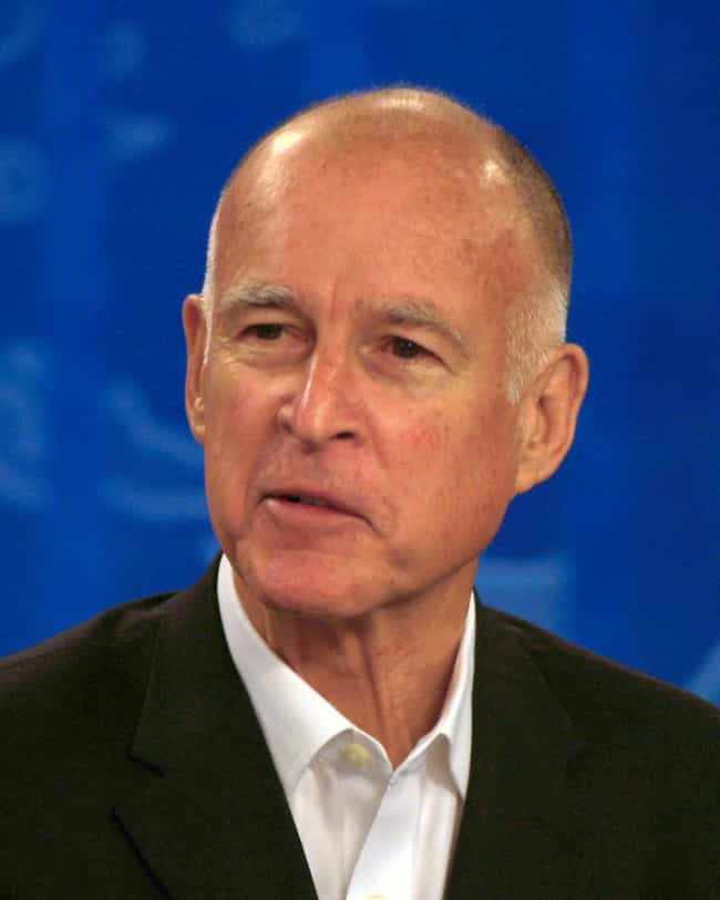 Jerry Brown is listed (or ranked) 4 on the list Men Who Candice Bergen