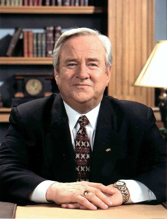 Jerry Falwell is listed (or ranked) 24 on the list 27 of the Most Famous ESTJs