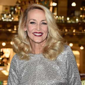 Jerry Hall is listed (or ranked) 7 on the list Famous People Whose Last Name Is Hall