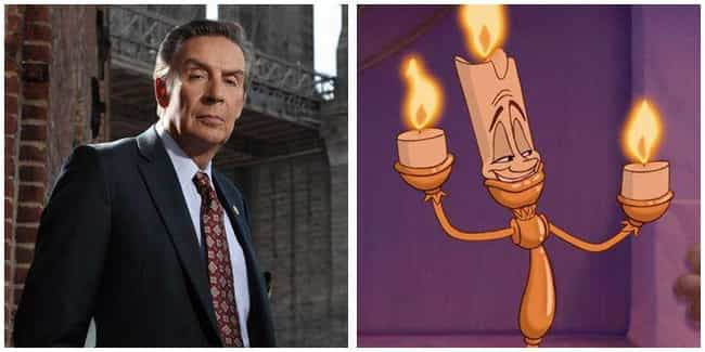 Jerry Orbach is listed (or ranked) 3 on the list 16 Random Actors You Didn't Realize Voiced Your Favorite Cartoon Characters