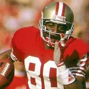 Jerry Rice is listed (or ranked) 1 on the list The Best San Francisco 49ers Wide Receivers of All Time