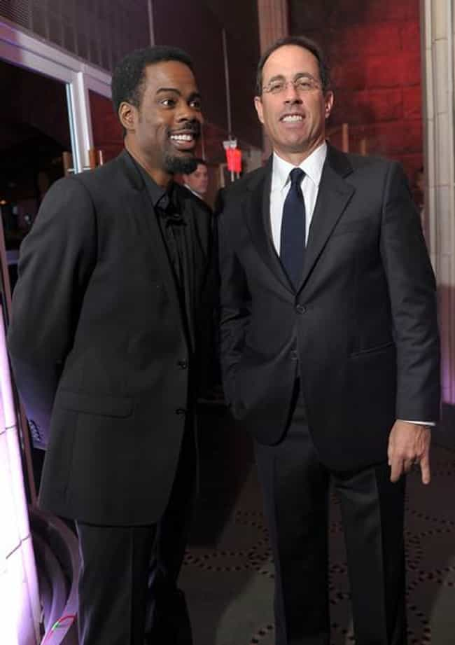 Jerry Seinfeld is listed (or ranked) 2 on the list Famous Friends of Chris Rock