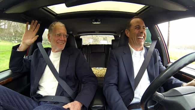 Jerry Seinfeld is listed (or ranked) 5 on the list Famous Friends of David Letterman