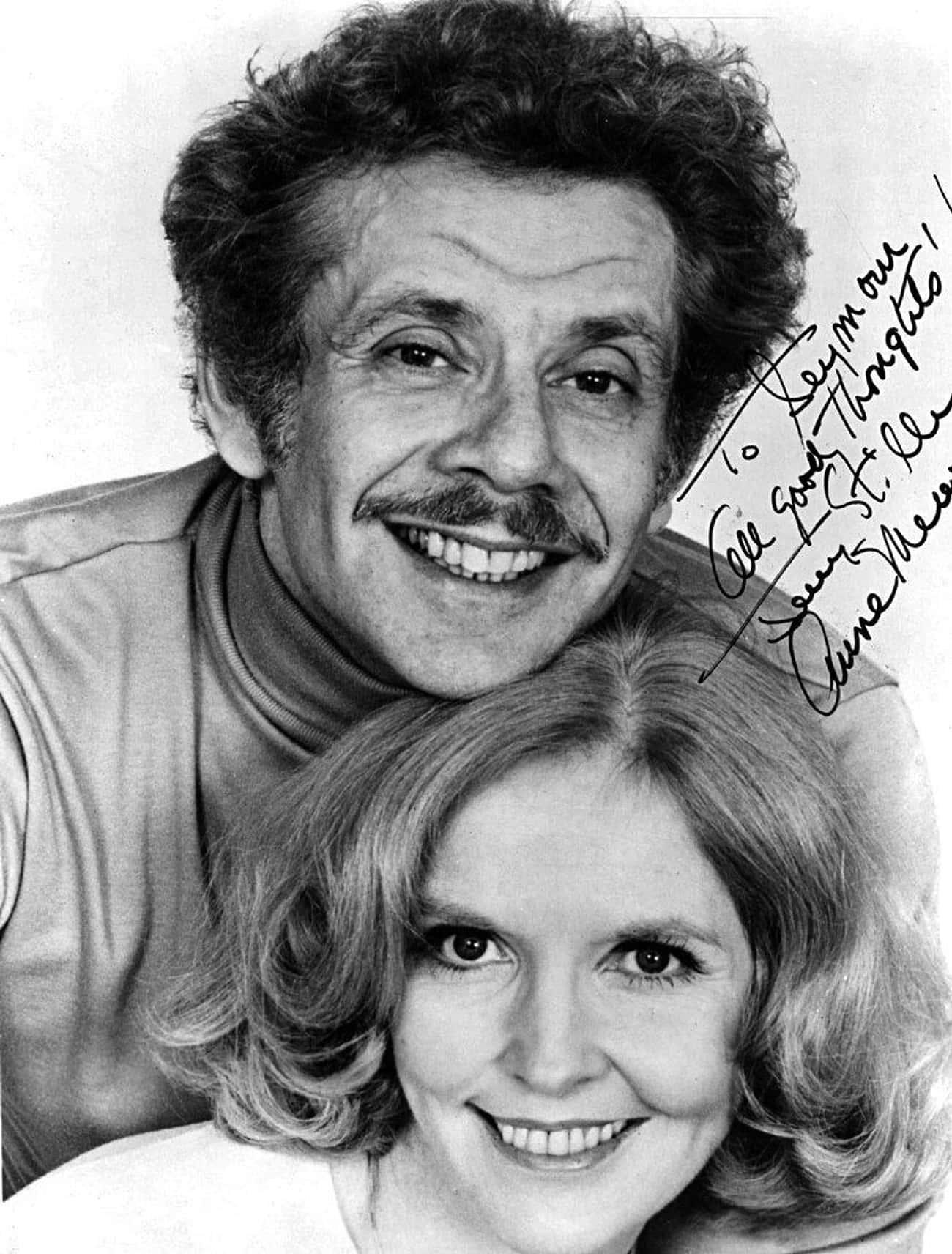 Jerry Stiller & Anne Meara