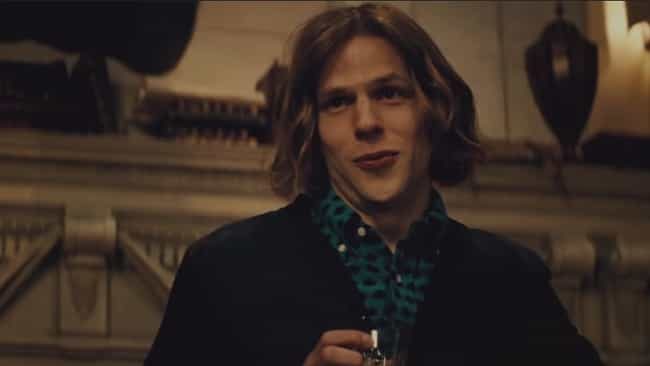 Jesse Eisenberg is listed (or ranked) 4 on the list The Worst Supervillain Performances In Comic Book Movies