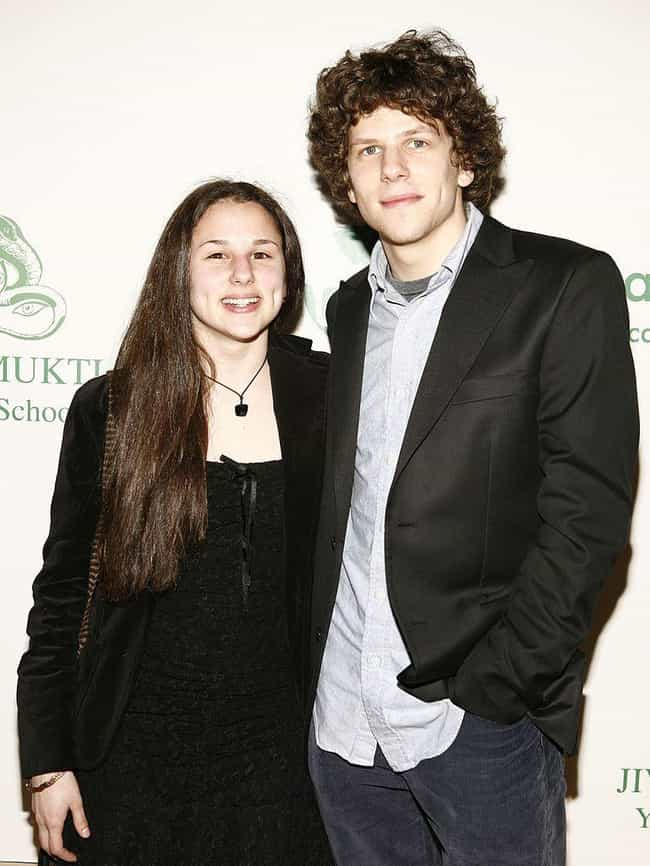Jesse Eisenberg is listed (or ranked) 4 on the list Celebrities You Might Not Know Are Siblings
