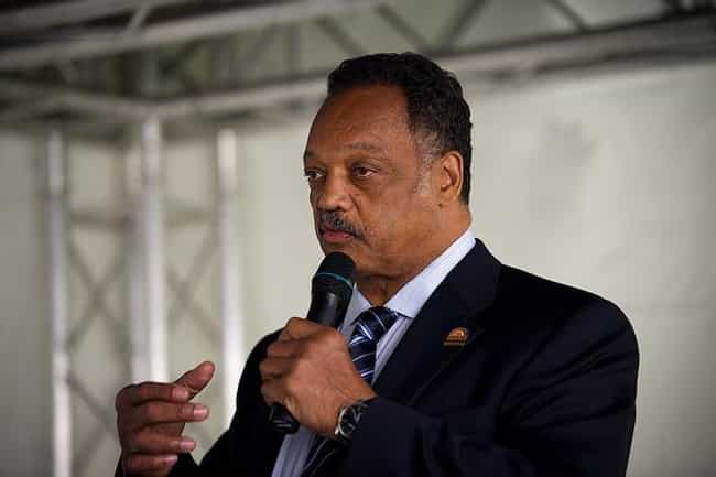 Jesse Jackson is listed (or ranked) 3 on the list Famous Male Social Activists