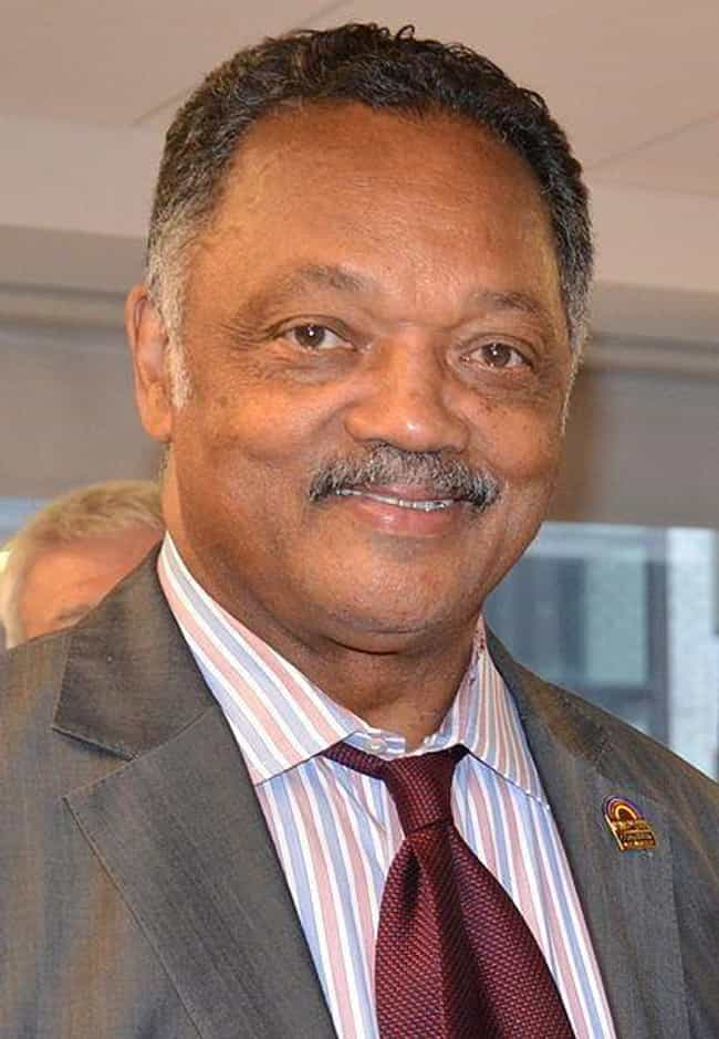 Jesse Jackson is listed (or ranked) 2 on the list Famous Celebrities Born With Cleft Lips