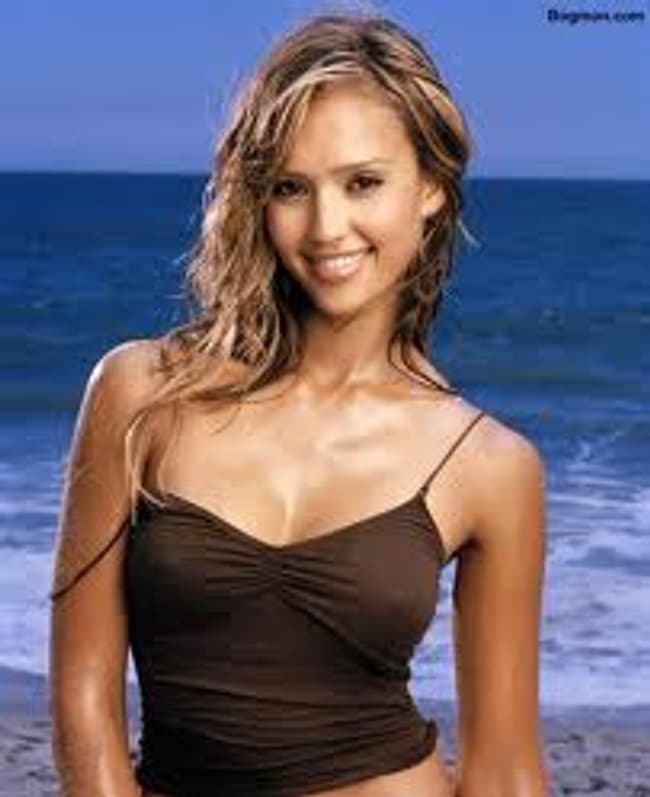 Jessica Alba is listed (or ranked) 4 on the list The Hottest Maxim Cover