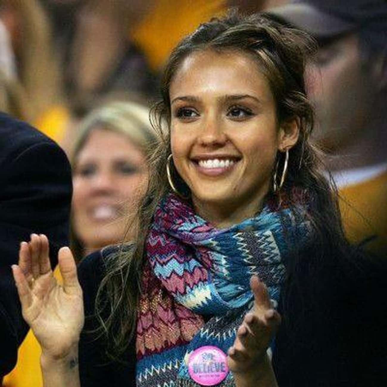 Jessica Alba is listed (or ranked) 2 on the list Celebrity Warriors Fans