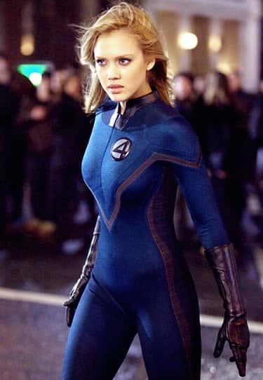 Jessica Alba As Sue Storm