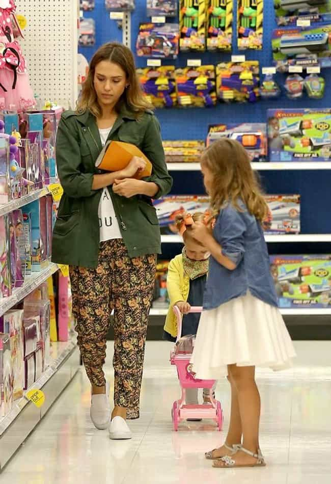 Jessica Alba is listed (or ranked) 3 on the list 20 Celebrities Who Shop At Target