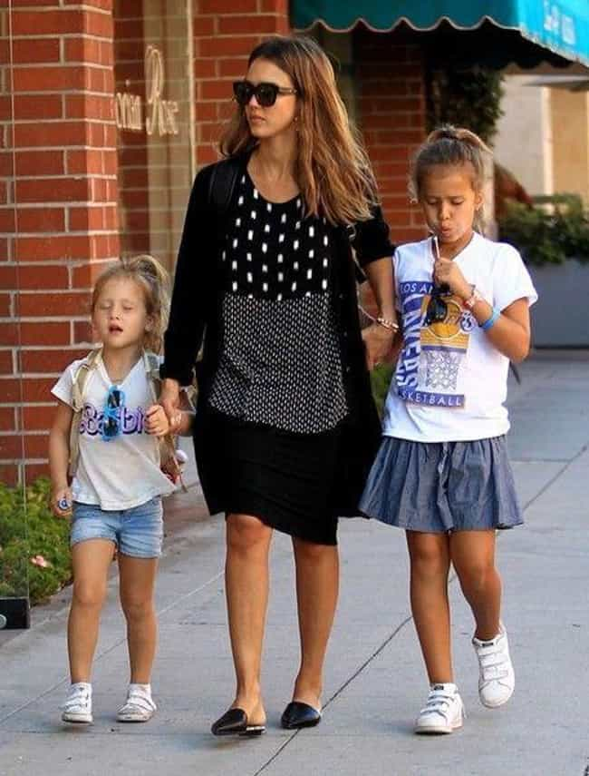Jessica Alba is listed (or ranked) 1 on the list 15 Famous Moms Who Only Have Daughters