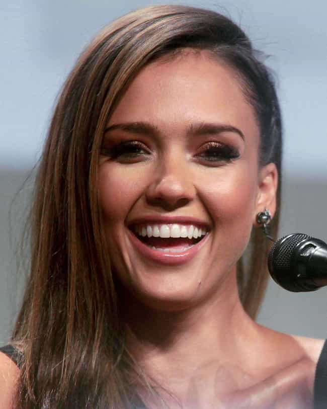 Jessica Alba is listed (or ranked) 2 on the list The Most Beautiful Famous Brown-Eyed Girls