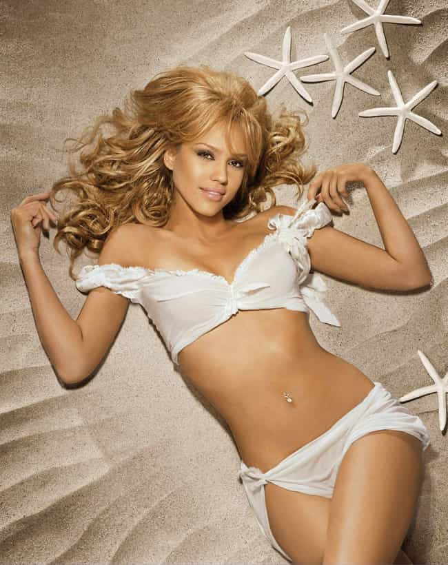 Jessica Alba is listed (or ranked) 4 on the list The 15 Hottest Actresses You Will Never See Naked on Film