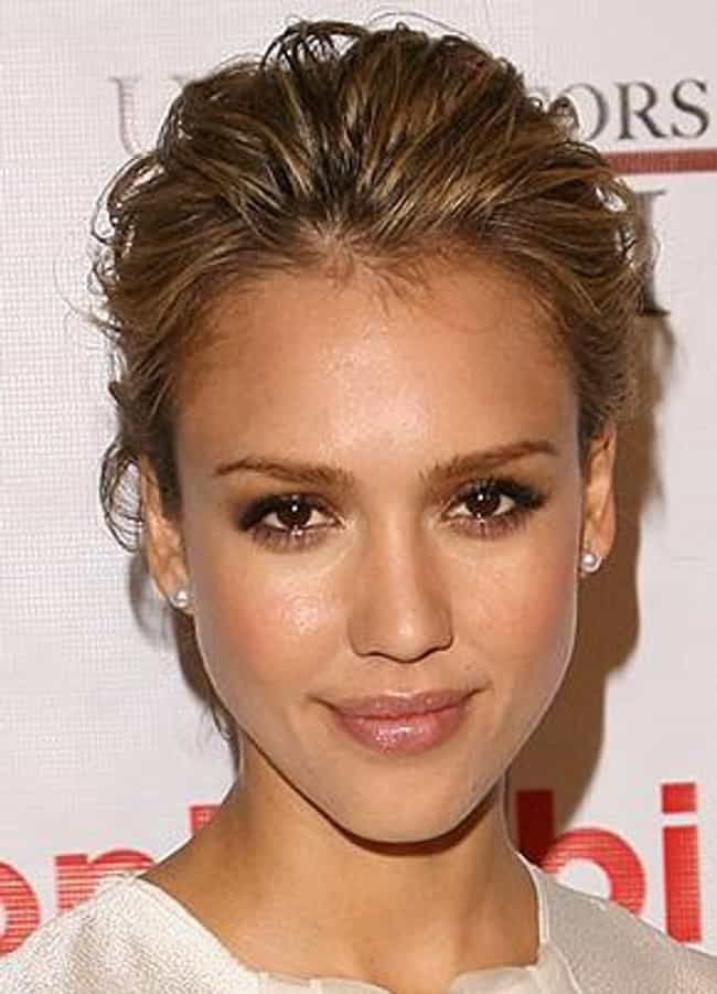 Jessica Alba is listed (or ranked) 1 on the list The Most Beautiful Celebrities Of Our Time