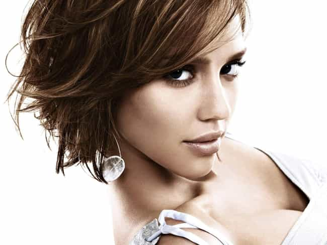 Jessica Alba is listed (or ranked) 2 on the list Celeb Women Who Can Totally Pull Off Short Hair