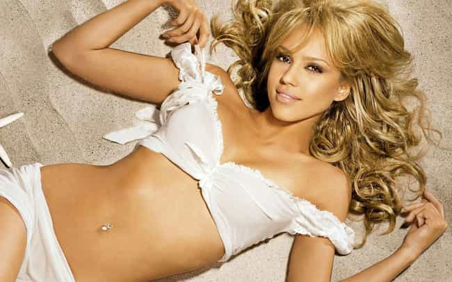 Jessica Alba is listed (or ranked) 1 on the list The 32 Hottest Women With Body Piercings