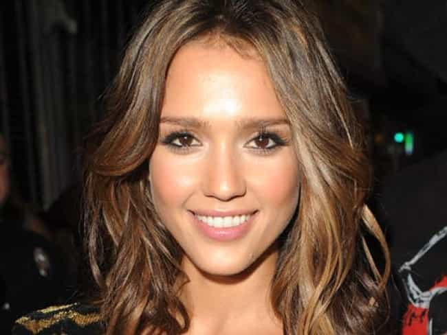 Jessica Alba is listed (or ranked) 4 on the list Nature Love
