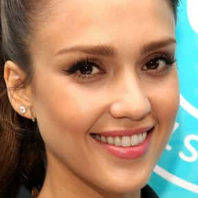 Jessica Alba is listed (or ranked) 24 on the list Natural Beauties Who Don't Need No Make-Up