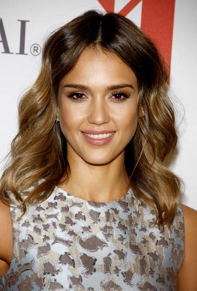 Jessica Alba is listed (or ranked) 1 on the list Celebrities With Surprising Allergies