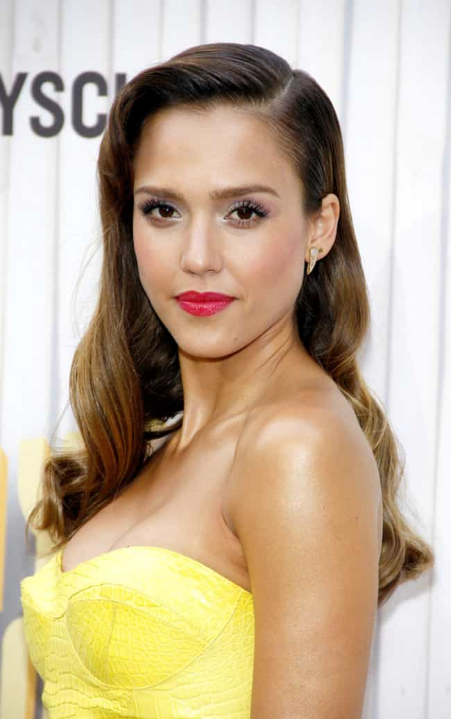 Jessica Alba is listed (or ranked) 1 on the list Famous People Who Are Allergic to Cats